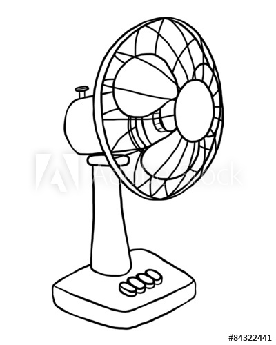 electric fan.