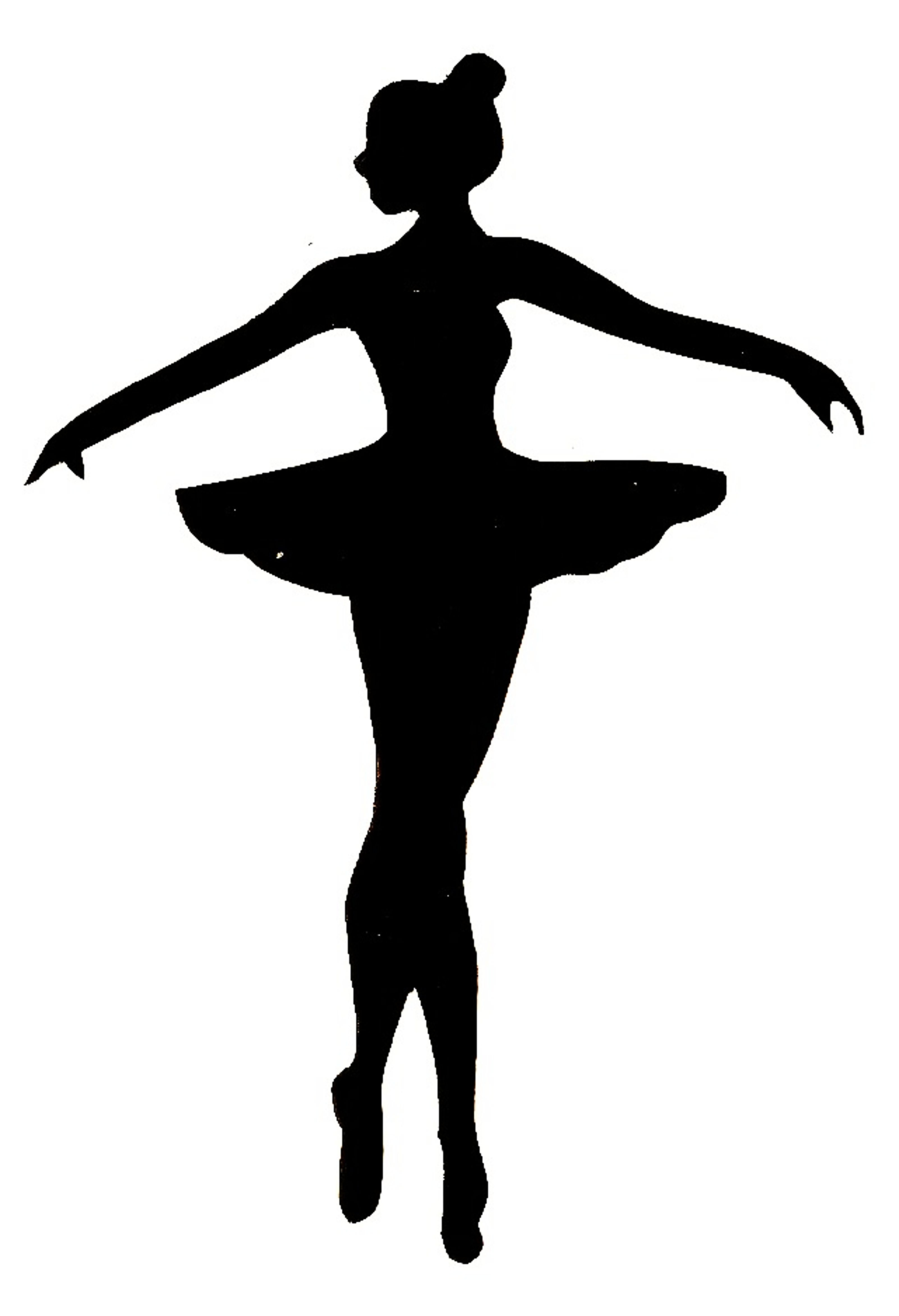 Ballet Clipart Black And White Free Clip Art Images.