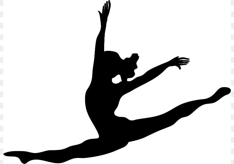 Ballet Dancer Silhouette Jazz Dance Clip Art, PNG, 798x574px.