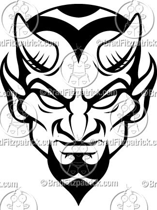Blue Devils Mascot Logo in 2019.