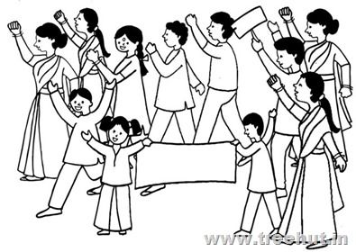 Rally, Demonstration Clipart.