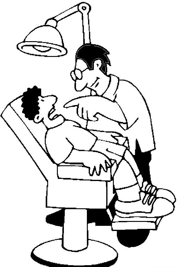 Free Dentist Clipart Black And White, Download Free Clip Art.