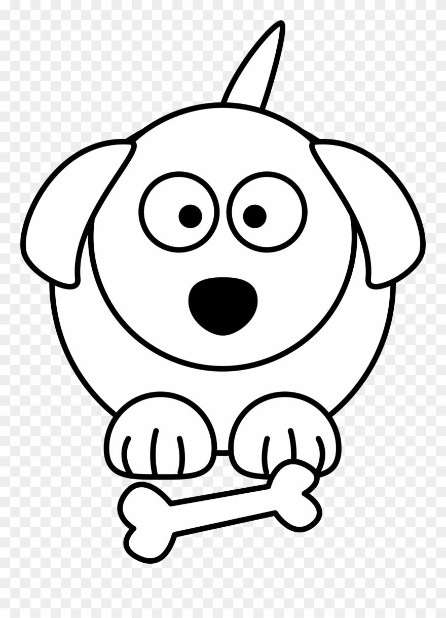 Dog Black And White Black And White Dog Cartoon Free.