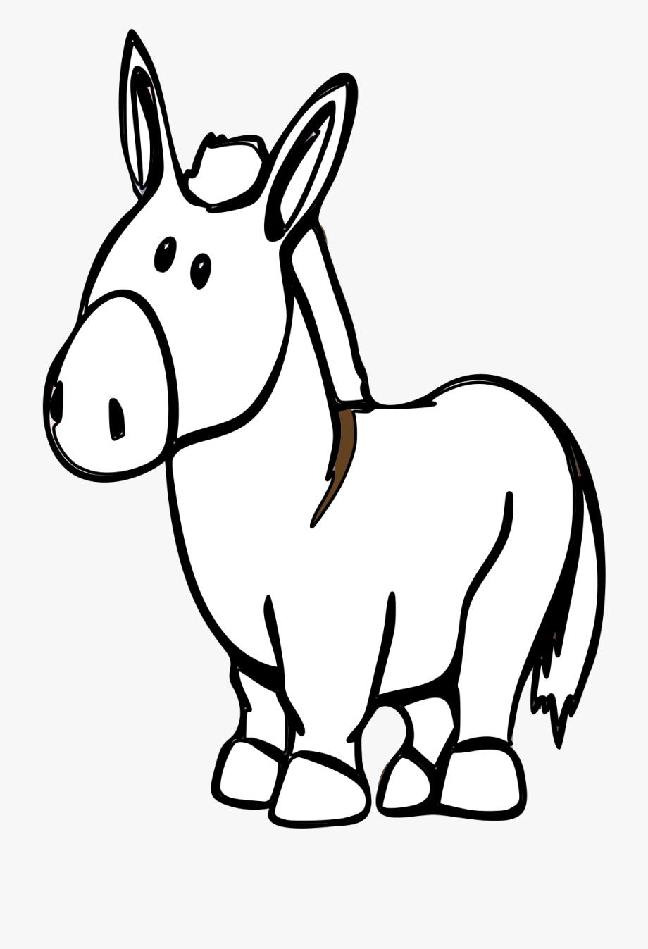 Donkey Clipart Easy.