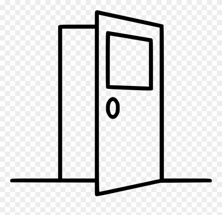 Elevator clipart door outline, Elevator door outline.