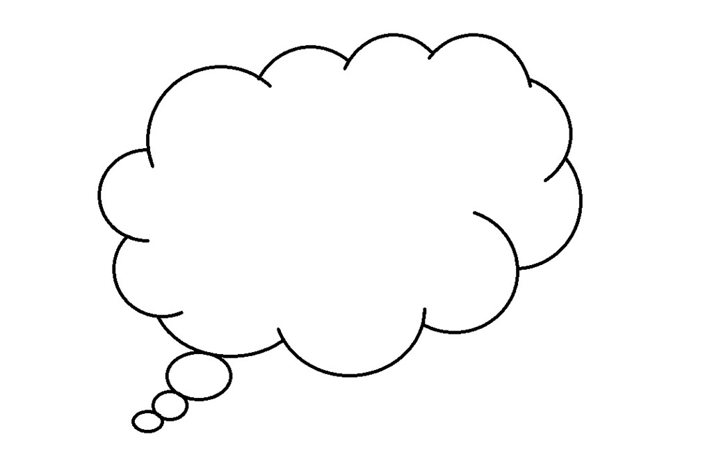 Free Dream Clipart Black And White, Download Free Clip Art.