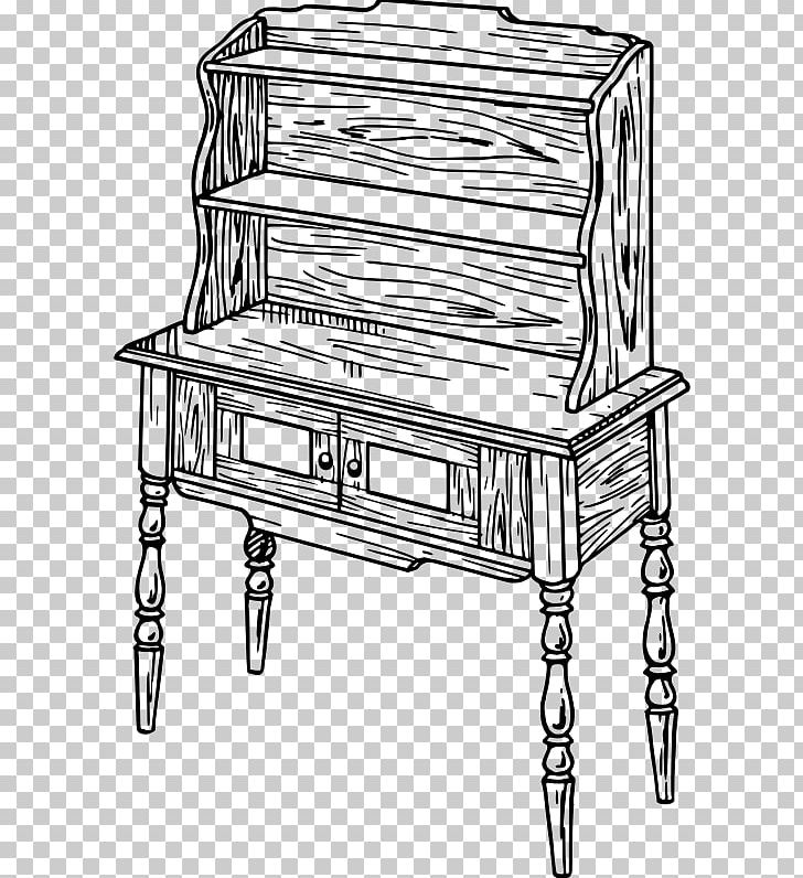 Table Chest Of Drawers Welsh Dresser Furniture PNG, Clipart.