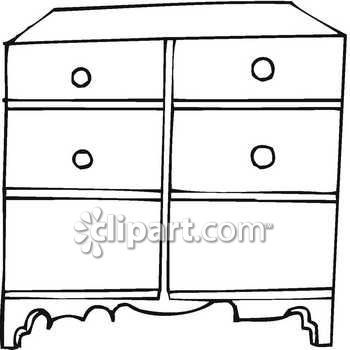 Clipart black and white draw pull.
