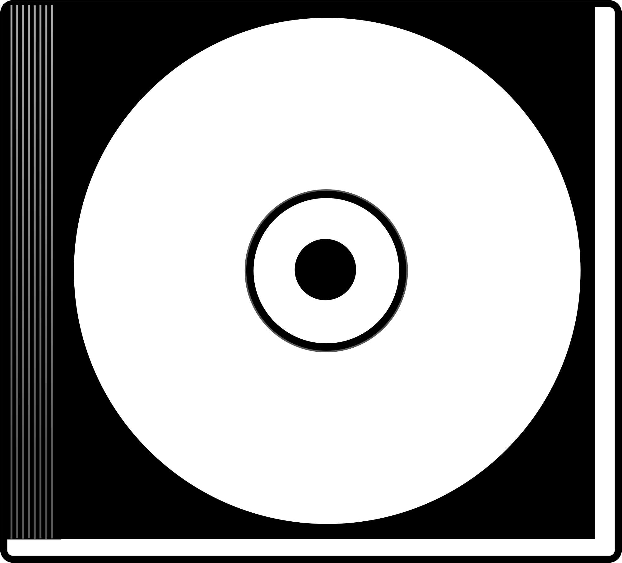 Free Dvd Clipart Black And White, Download Free Clip Art.