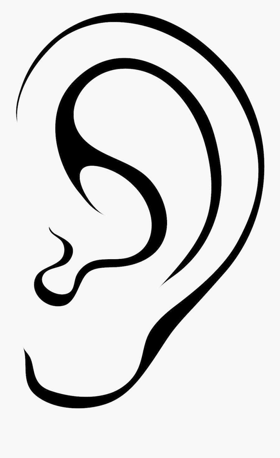Transparent Ears Clipart.