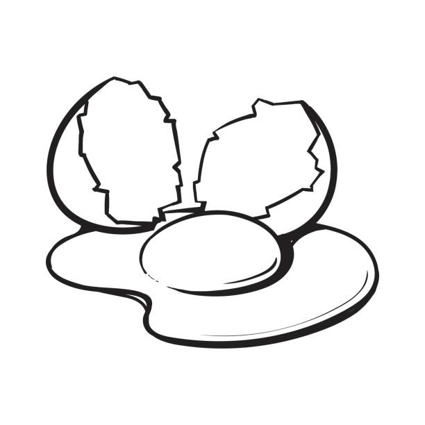 Free Egg Clipart Black And White, Download Free Clip Art.