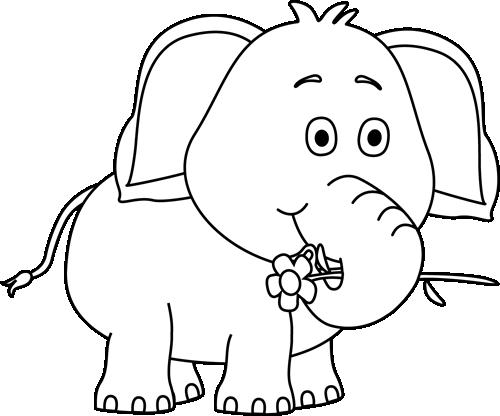 Cute Elephant Drawings.