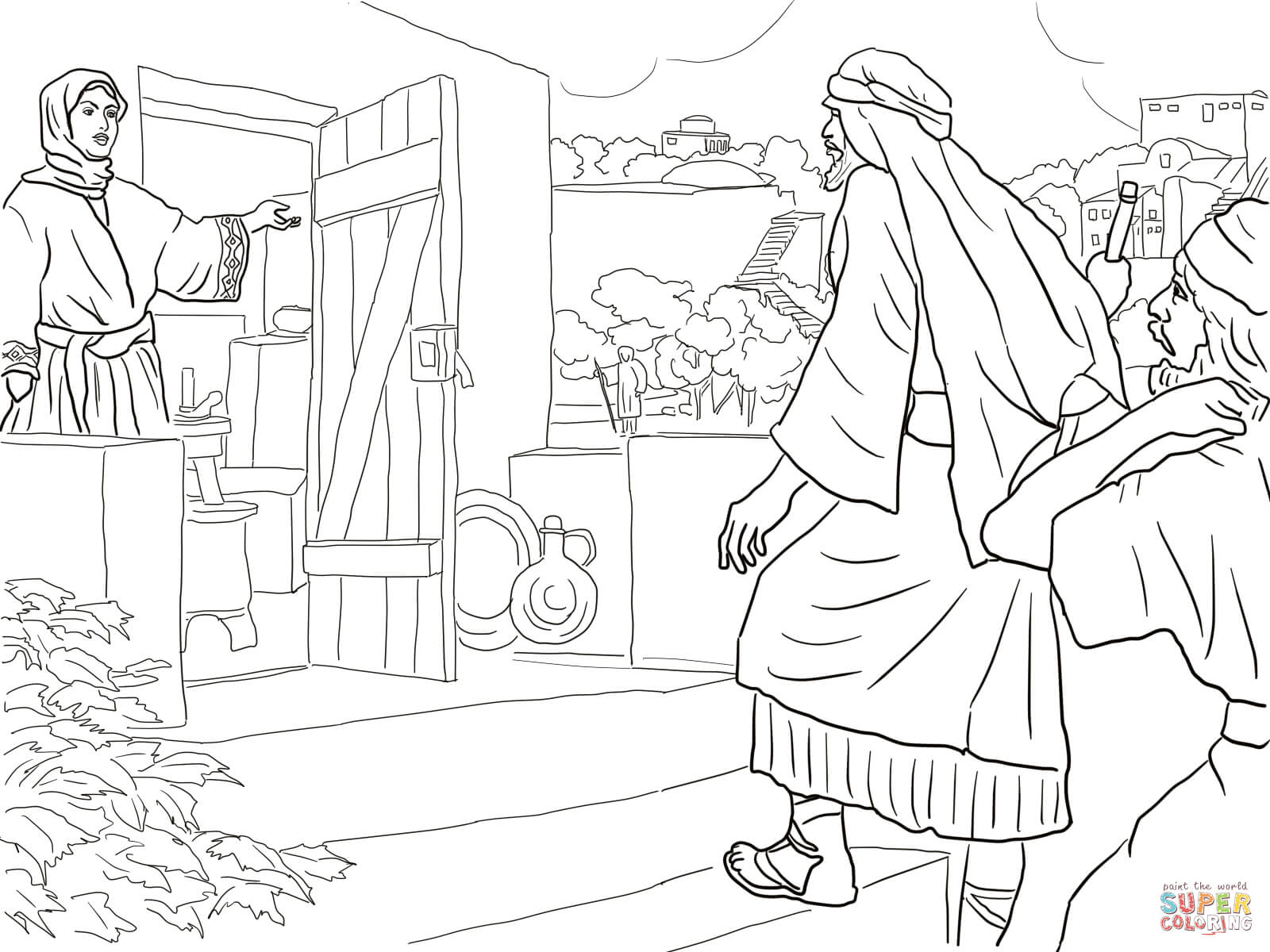 Free Elisha Coloring Pages, Download Free Clip Art, Free.