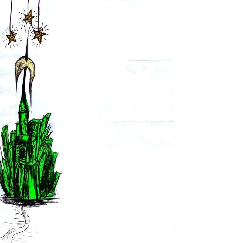 Emerald City Clipart.
