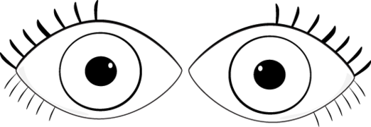 Eyes Clipart Black And White & Eyes Black And White Clip Art.