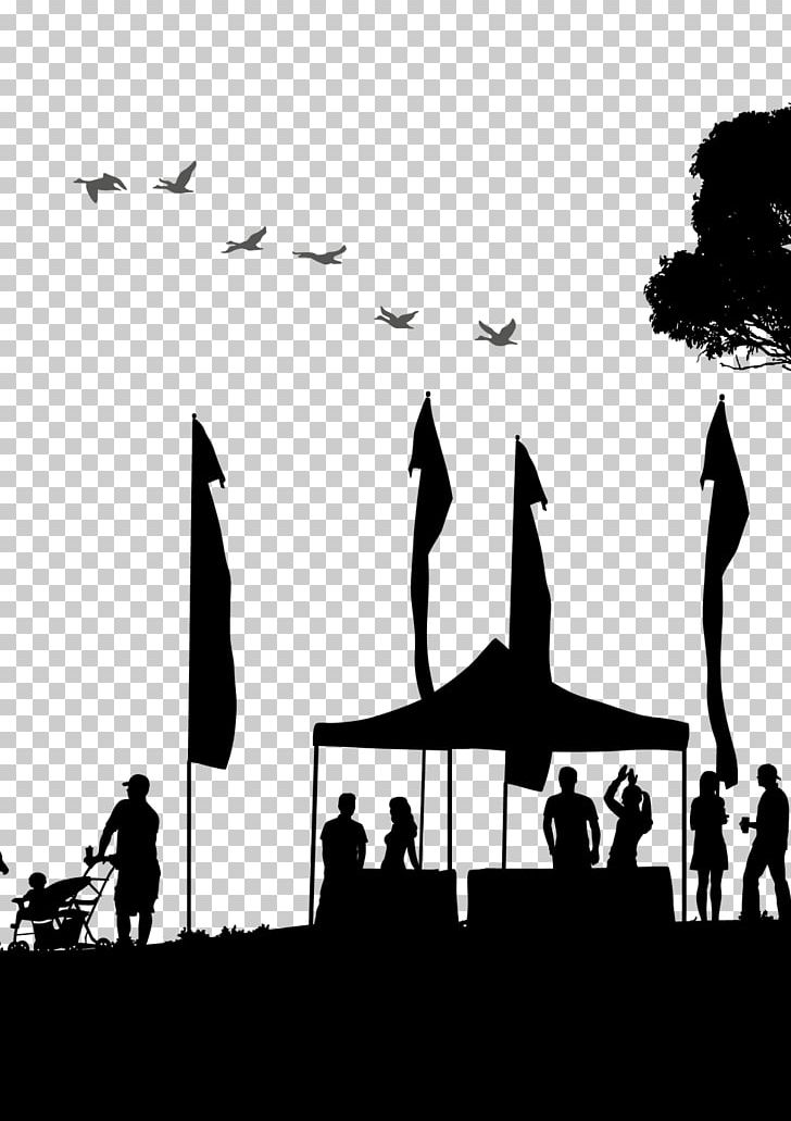 Music Festival Drawing Circus PNG, Clipart, Black, Black And.