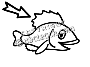 Fin clipart black and white » Clipart Station.