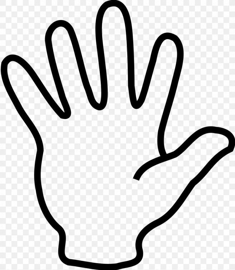 The Finger High Five Clip Art, PNG, 891x1023px, Finger, Area.
