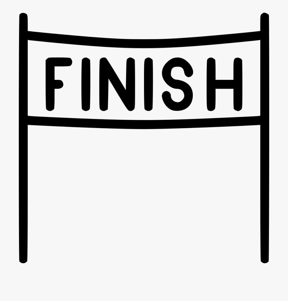 Finish Line Clipart End Race.
