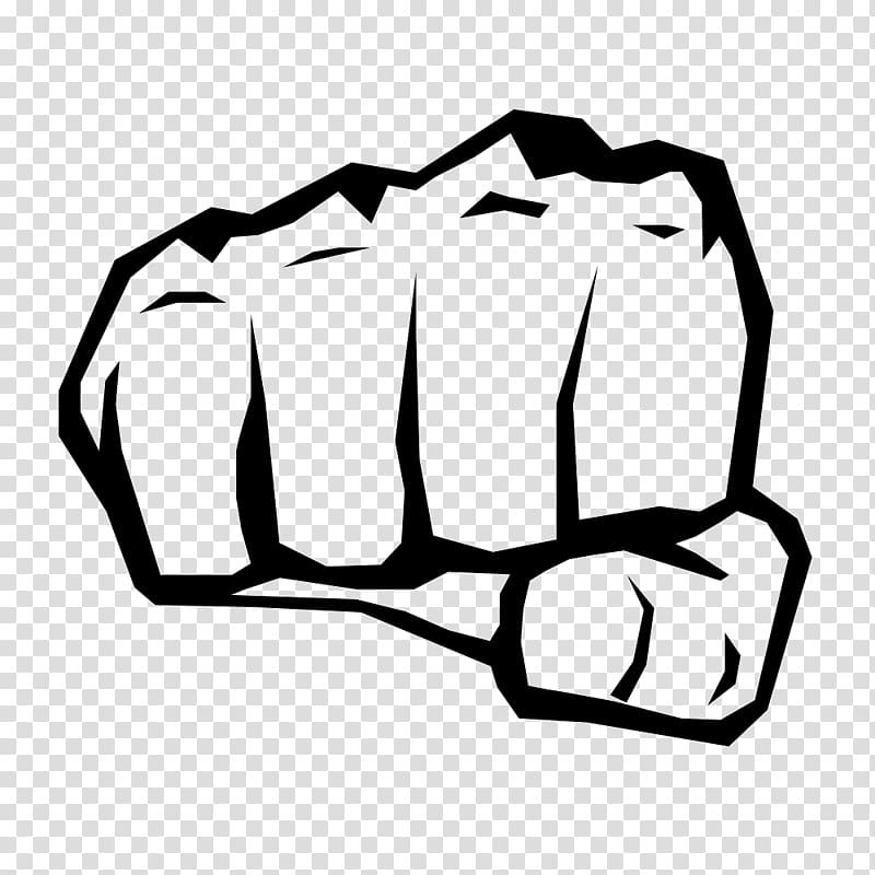 Drawing Fist , case closed transparent background PNG.