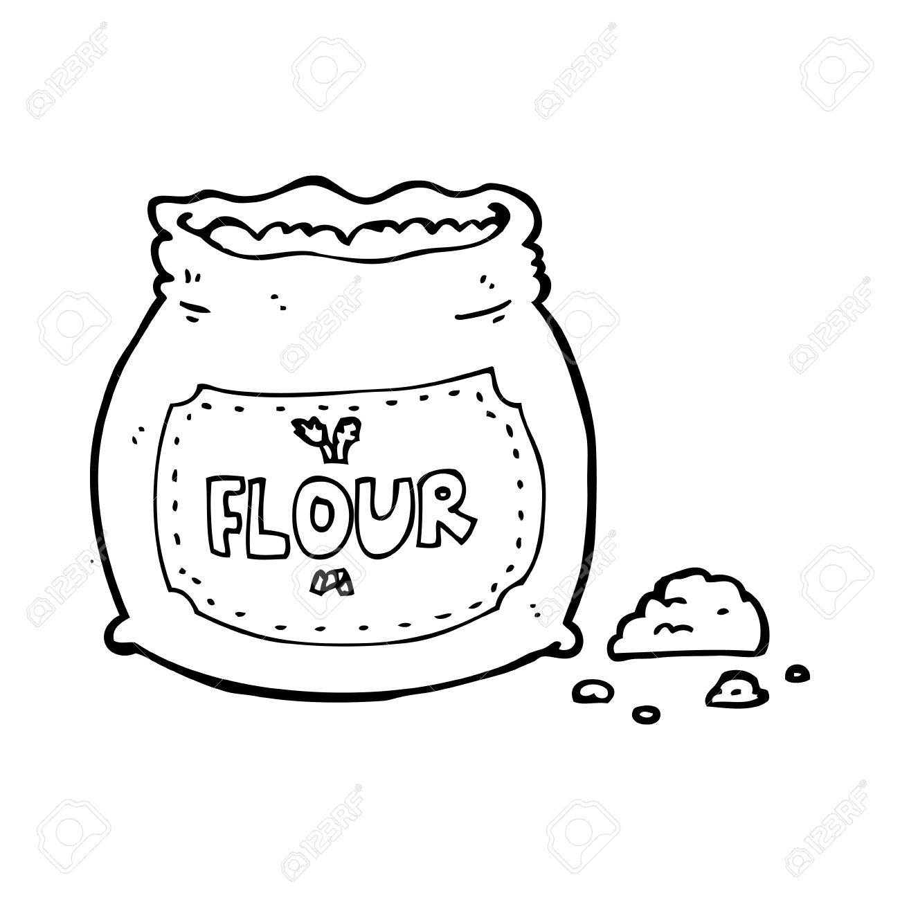 Flour Bag Clipart.