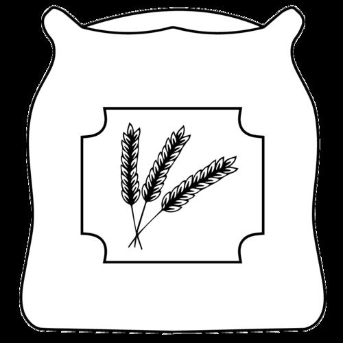 Flour clipart black and white.