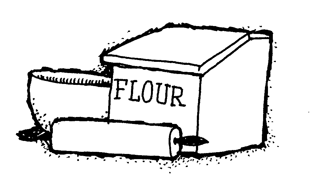 Free Flour Clipart Black And White, Download Free Clip Art.