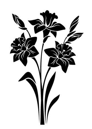 159,864 Black And White Flower Cliparts, Stock Vector And Royalty.