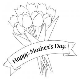 Free Mothers Day Black And White, Download Free Clip Art.