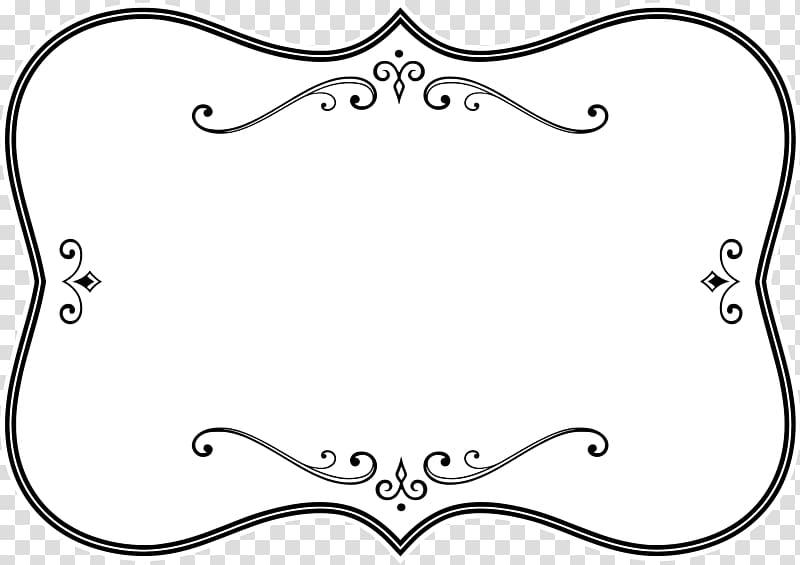 Borders and Frames Frames Black and white , white frame.