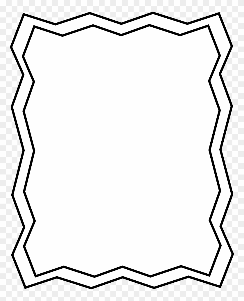 Halloween Clipart Black And White Borders Frame Black Png.
