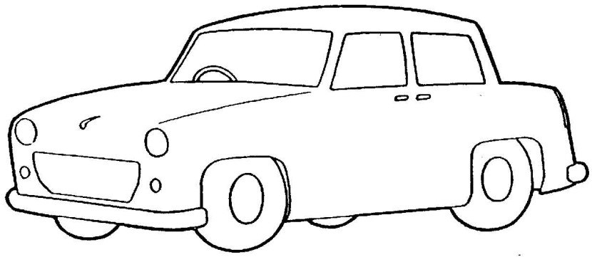 Realistic Black And White Car Clipart 90 For Clipart Free.