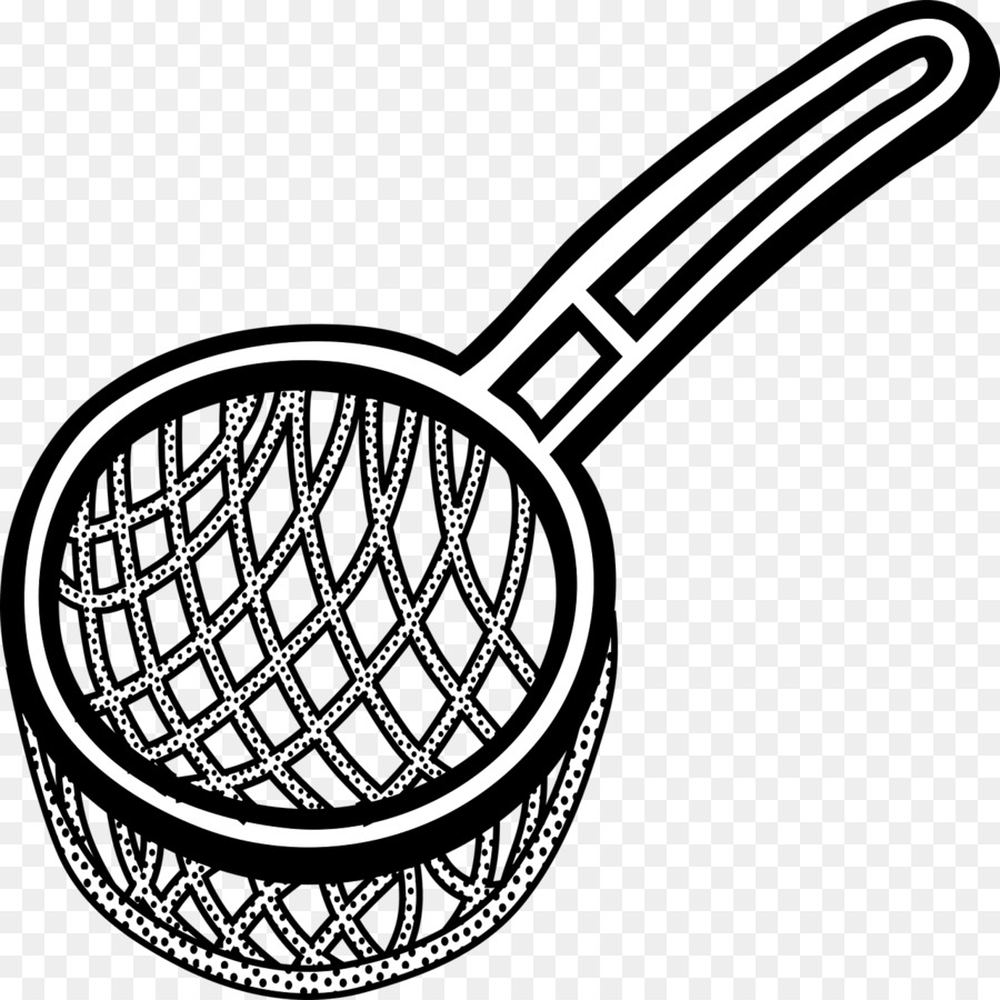 Sieve Black And White png download.