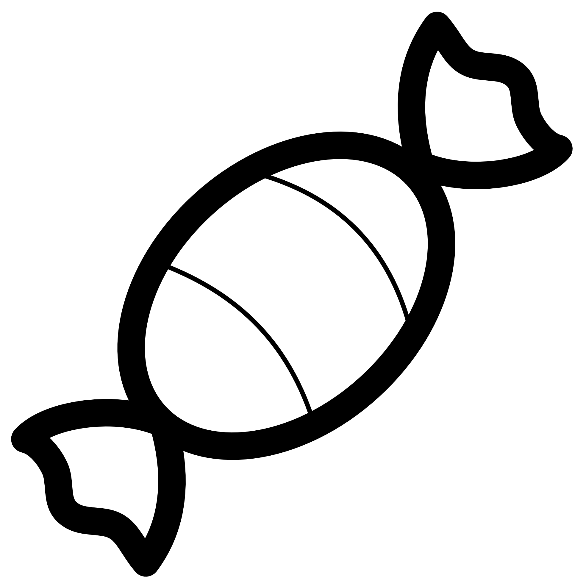 Candy Corn Clip Art Black And White.
