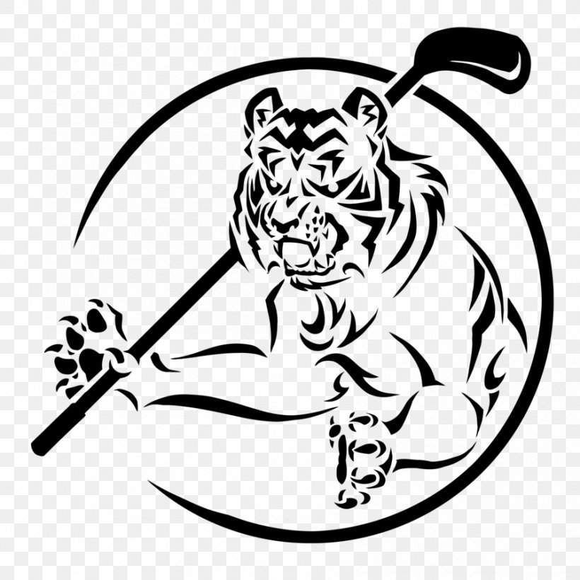 Cat White Tiger Bengal Tiger Black Tiger Gang, PNG.