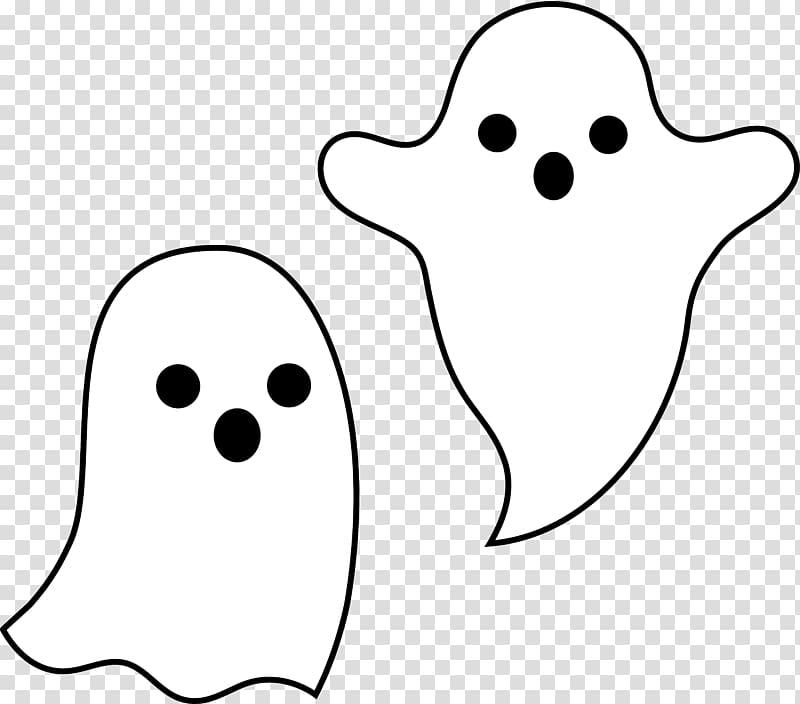 Casper Ghost Halloween Black and white , Ghost transparent.