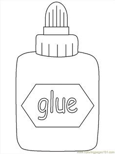 Free Glue Black And White Clipart, Download Free Clip Art.