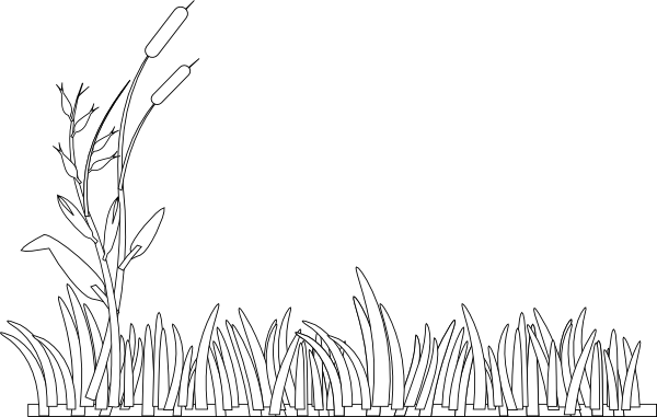 Free Grass Clipart Black And White, Download Free Clip Art.