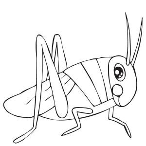 Grasshopper clipart black and white 3 » Clipart Station.