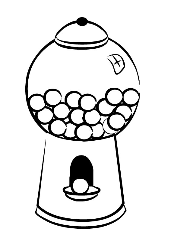 Free Gum Clipart Black And White, Download Free Clip Art.