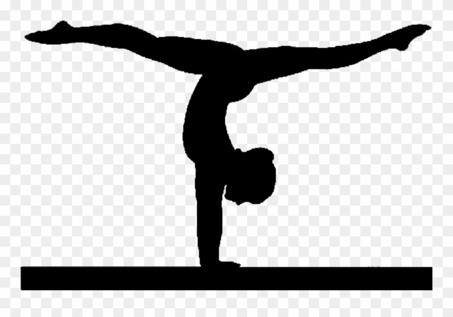 Png Gymnastics Black And White Transparent Gymnastics.