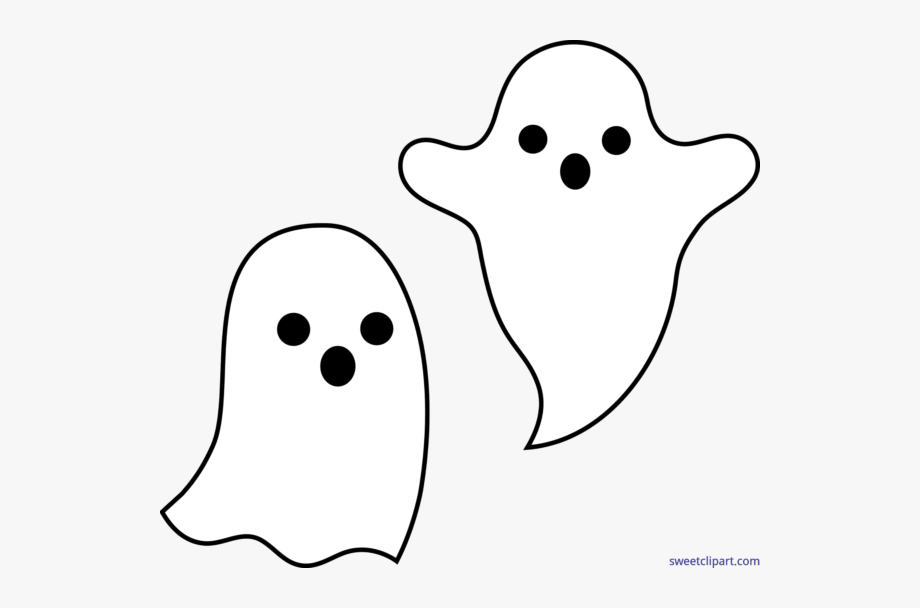 Halloween Ghost Png Clipart.