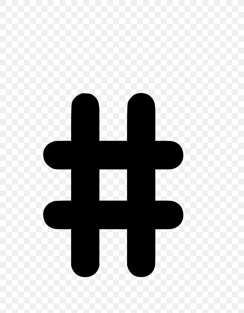 Number Sign Hashtag Clip Art, PNG, 744x1052px, Number Sign.