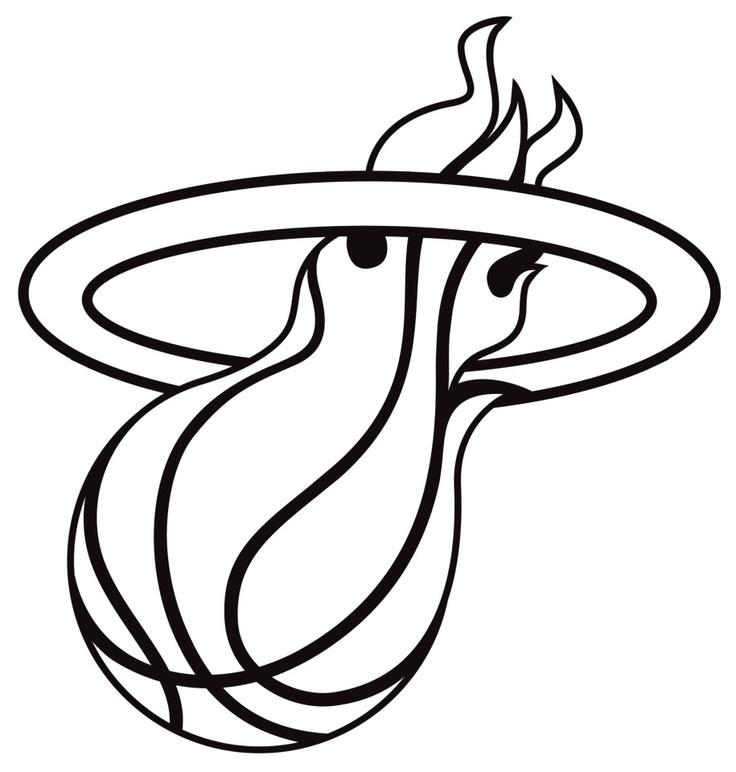 Miami Heat logo.
