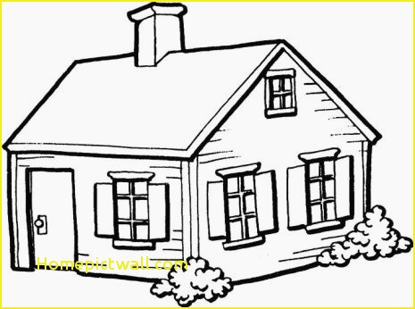 Building clipart black and white Inspirational best house.