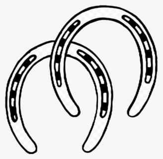 Free Black Horseshoe Clip Art with No Background.