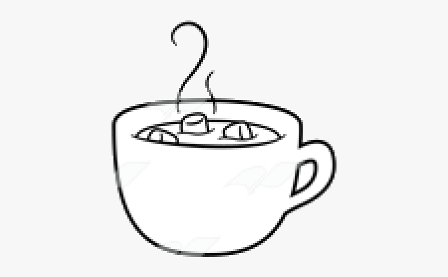 Hot Chocolate X Clipart Black And White Transparent.