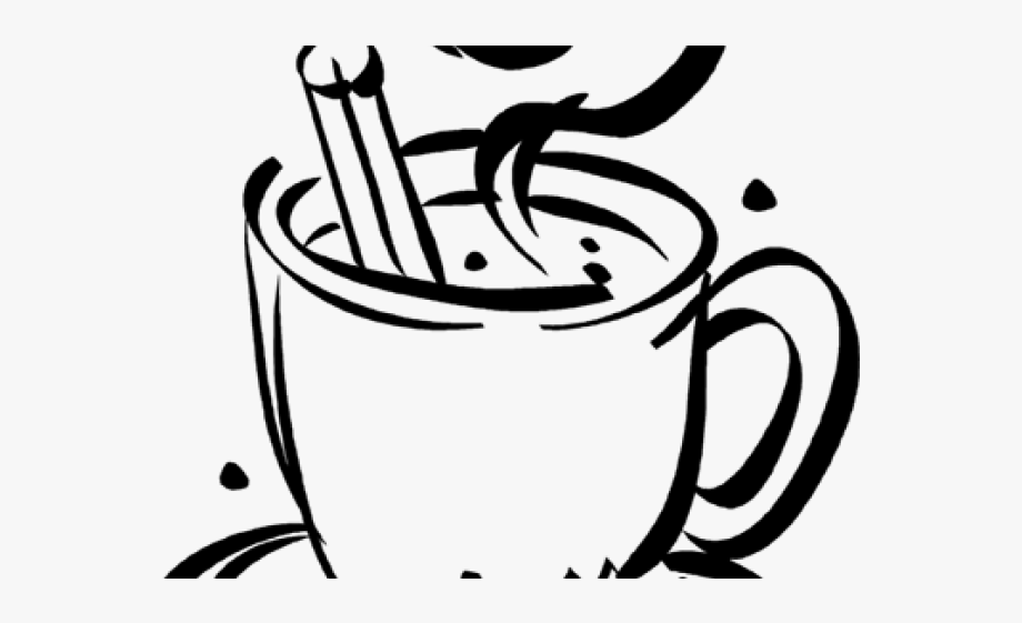 Hot Chocolate Clipart Transparent Background.