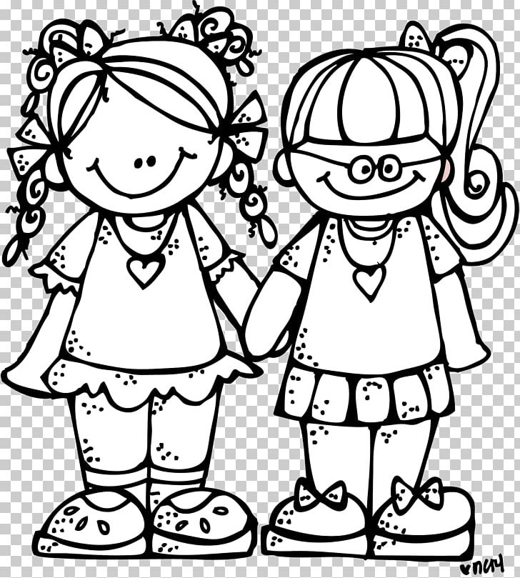 Black And White Friendship Hug PNG, Clipart, Best Friends.