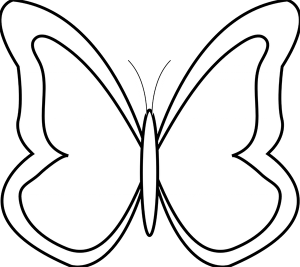 999+ Butterfly Clipart Black and White [Free Download.